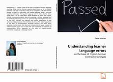 Bookcover of Understanding learner language errors