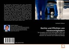 Buchcover von Rechte und Pflichten von Vereinsmitgliedern