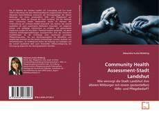 Community Health Assessment-Stadt Landshut kitap kapağı