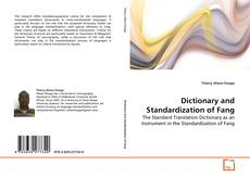 Dictionary and Standardization of Fang kitap kapağı
