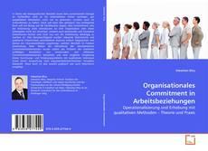 Organisationales Commitment in Arbeitsbeziehungen的封面