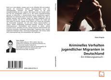 Bookcover of Kriminelles Verhalten jugendlicher Migranten in Deutschland