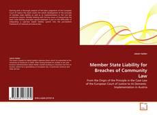 Borítókép a  Member State Liability for Breaches of Community Law - hoz