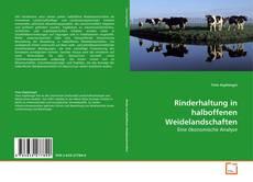 Buchcover von Rinderhaltung in halboffenen Weidelandschaften