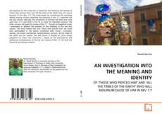 Buchcover von AN INVESTIGATION INTO THE MEANING AND IDENTITY