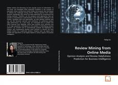 Capa do livro de Review Mining from Online Media