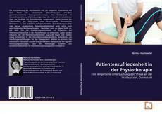 Couverture de Patientenzufriedenheit in der Physiotherapie