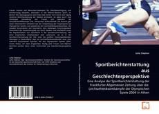 Обложка Sportberichterstattung aus Geschlechterperspektive