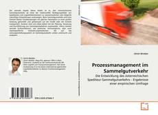 Couverture de Prozessmanagement im Sammelgutverkehr