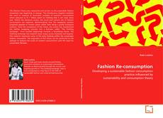 Capa do livro de Fashion Re-consumption