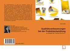 Bookcover of Qualitätsverbesserungen bei der Produktentwicklung