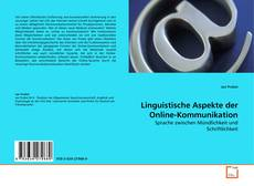 Bookcover of Linguistische Aspekte der Online-Kommunikation