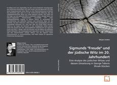 """Couverture de Sigmunds """"Freude"""" und der jüdische Witz im 20. Jahrhundert"""