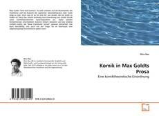Capa do livro de Komik in Max Goldts Prosa
