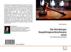 Borítókép a  Die Nürnberger Hauptkriegsverbrecherprozesse - hoz