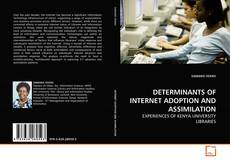 Bookcover of DETERMINANTS OF INTERNET ADOPTION AND ASSIMILATION