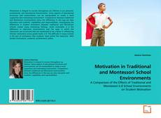 Bookcover of Motivation in Traditional and Montessori School Environments