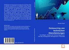 Capa do livro de Outsourcing von technischen Dienstleistungen