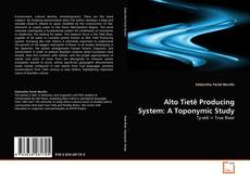 Bookcover of Alto Tietê Producing System: A Toponymic Study
