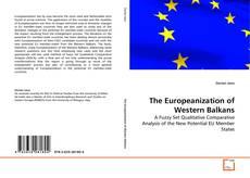 Capa do livro de The Europeanization of Western Balkans