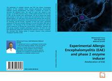 Capa do livro de Experimental Allergic Encephalomyelitis (EAE) and phase 2 enzyme inducer