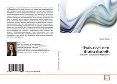 Copertina di Evaluation einer Gratiszeitschrift