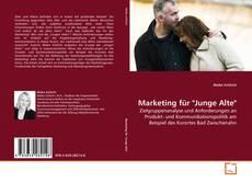 """Buchcover von Marketing für """"Junge Alte"""""""