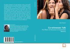 Buchcover von Co-witnesses Talk