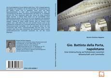 Copertina di Gio. Battista della Porta, napoletano