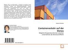 Portada del libro de Containerverkehr auf der Donau