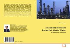 Portada del libro de Treatment of Textile Industries Waste Water