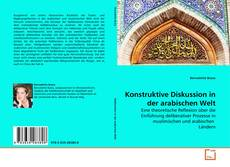 Konstruktive Diskussion in der arabischen Welt kitap kapağı