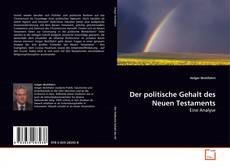 Der politische Gehalt des Neuen Testaments kitap kapağı