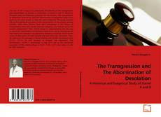Buchcover von The Transgression and The Abomination of Desolation