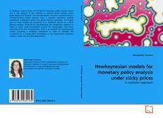 Buchcover von Newkeynesian models for monetary policy analysis under sticky prices
