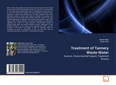 Обложка Treatment of Tannery Waste Water