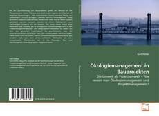 Обложка Ökologiemanagement in Bauprojekten