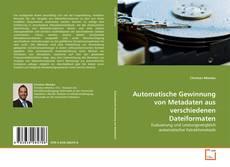 Обложка Automatische Gewinnung von Metadaten aus verschiedenen Dateiformaten