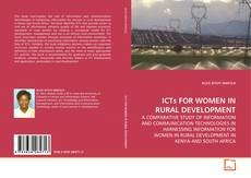 Обложка ICTs FOR WOMEN IN RURAL DEVELOPMENT