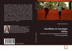 Bookcover of Konflikte im heutigen Afrika