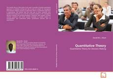 Bookcover of Quantitative Theory