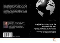 Copertina di Projektmanagement im Wandel der Zeit