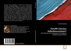 Capa do livro de Schafft Literatur Selbstbewusstsein?