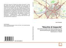 "Borítókép a  ""Macchie di leopardo"" - hoz"