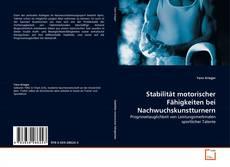 Bookcover of Stabilität motorischer Fähigkeiten bei Nachwuchskunstturnern
