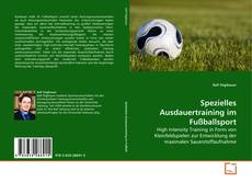 Portada del libro de Spezielles Ausdauertraining im Fußballsport