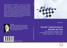 Bookcover of Formel 1 Sponsoring im Wandel der Zeit
