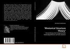 """Bookcover of """"Rhetorical Structure Theory"""""""