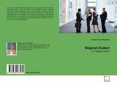 Capa do livro de Wajerat Dialect