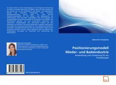 Bookcover of Positionierungsmodell Mieder- und Badeindustrie